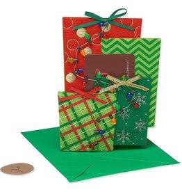 PAPYRUS® Christmas Gift Card Holder Die Cut Felt Christmas Presents