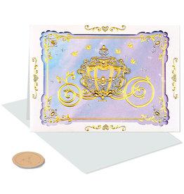 PAPYRUS® Wedding Cards Disney's Princess Carriage