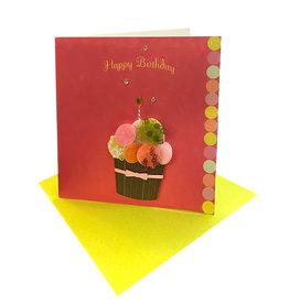 PAPYRUS® Gift Enclosure Card Birthday Cupcake