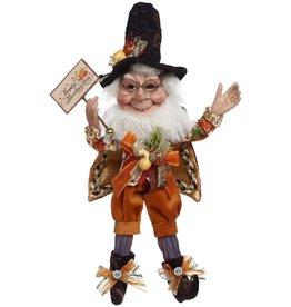 Mark Roberts Fairies Elves Give Thanks Elf w Happy Thanksgiving