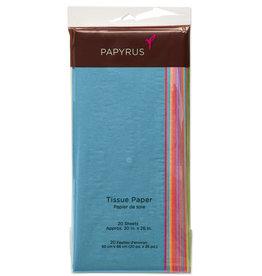 PAPYRUS® Tissue Paper 20 Sheets Spectrum Assorted Colors