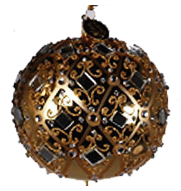 Katherine's Collection Gold Natale Diamond Ornament - A