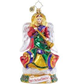Christopher Radko Triumphant Flight Ornament