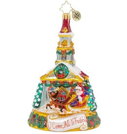 Christopher Radko Worshippers Welcome Ornament