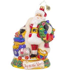 Christopher Radko Spreading Joy And Jubilation Ornament