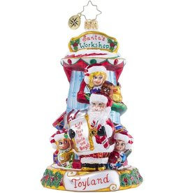 Christopher Radko All Work And All Play Ornament