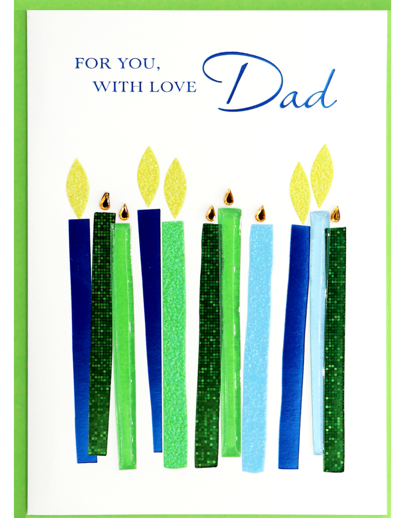 PAPYRUS® Birthday Card For Dad Birthday Candles