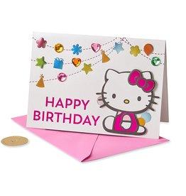 PAPYRUS® Birthday Card Hello Kitty Confetti