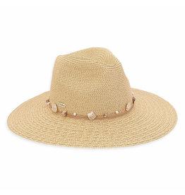 Sun N Sand Womens Hats Straw Safari Wide Brim - Tan