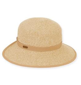Sun N Sand Women's Hats Backless Wide Brim - Tan