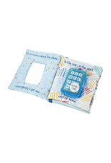 Mud Pie Baby Gifts Hello Its Me Plush Ringing Phone Book Blue