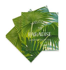 Caspari Lauderdale-By-The-Sea Cocktail Napkins 24pk Paradise