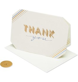 PAPYRUS® Thank You Card Simply Elegant Thank You
