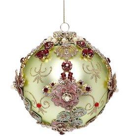 Kings Jewel Ball Ornament 5 Inch LTG