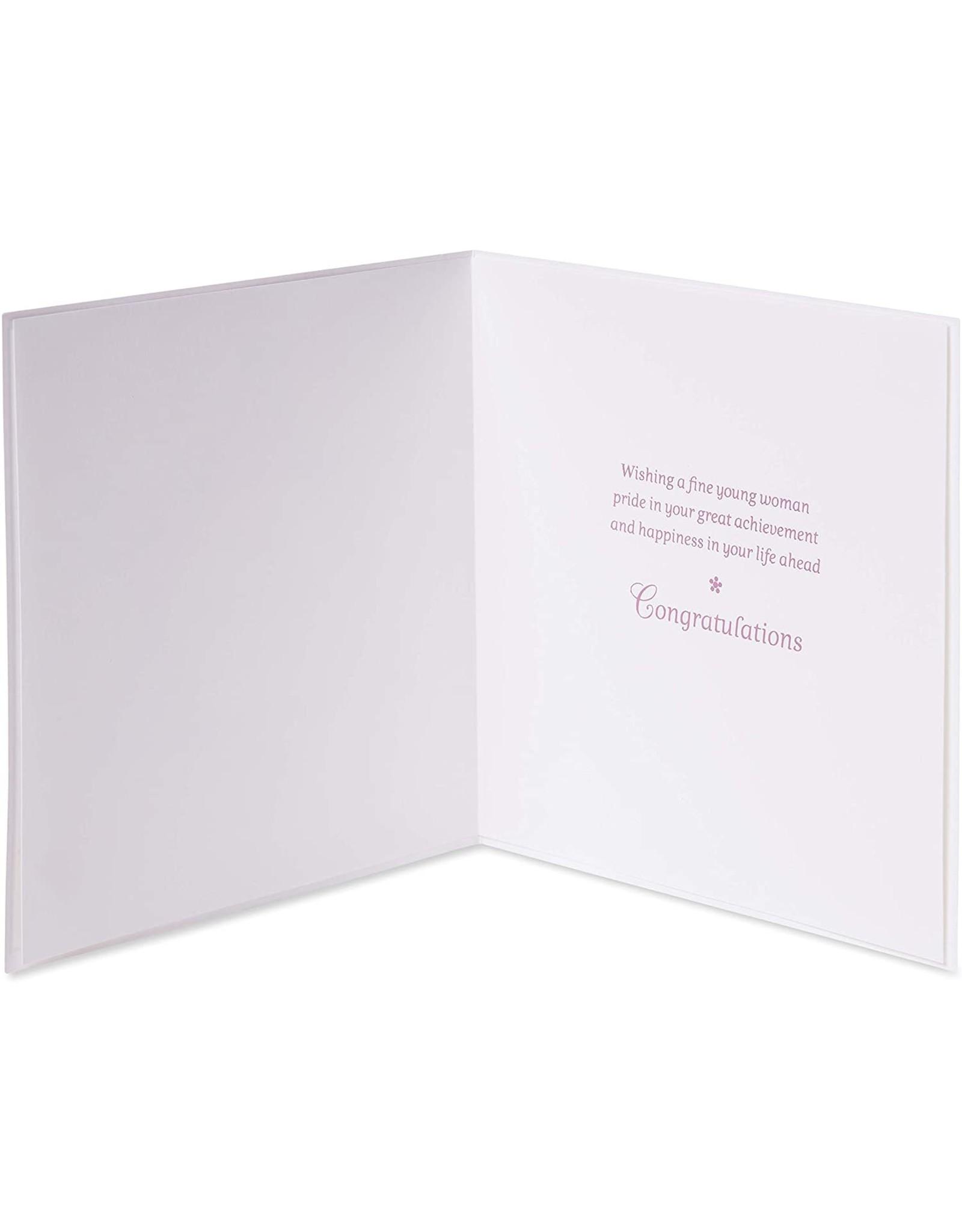 PAPYRUS® Bat Mitzvah Cards Fine Young Woman Bat Mitzvah Card