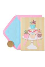 PAPYRUS® Birthday Card Sweet 16 Cupcakes