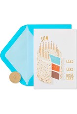 PAPYRUS® Birthday Card For Son Cake Scale