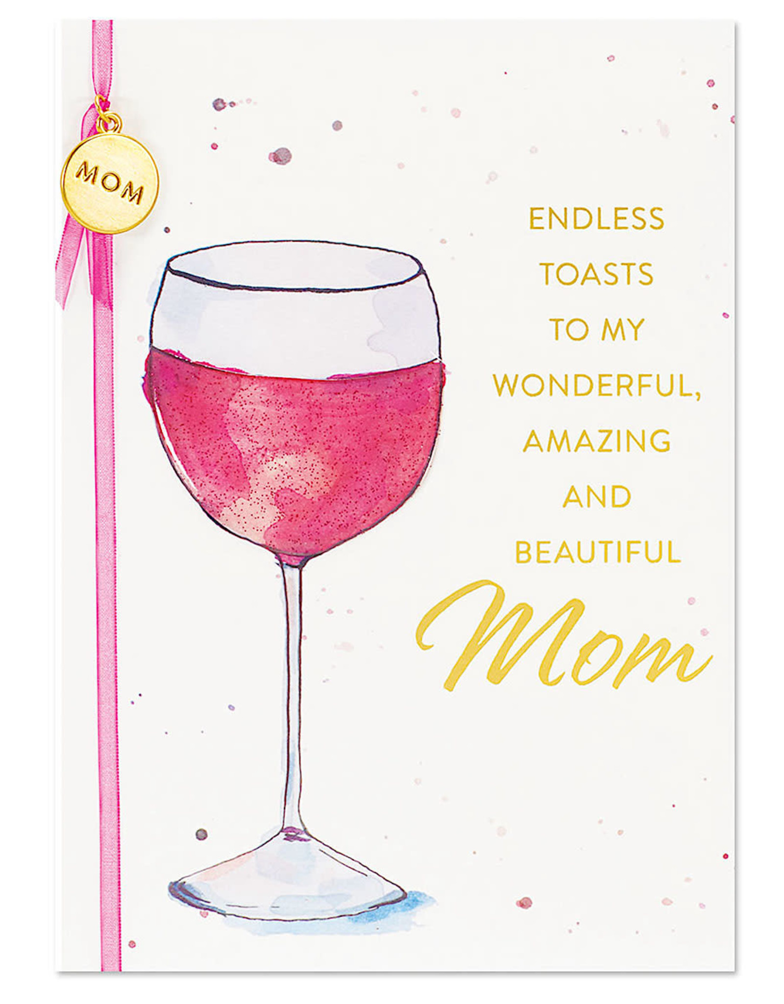 PAPYRUS® Birthday Card For Mom Elegant Wine