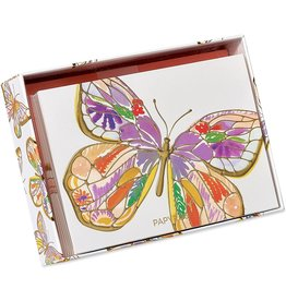 PAPYRUS® Boxed Notes Set of 12 Bold Butterfly Blank Note Cards