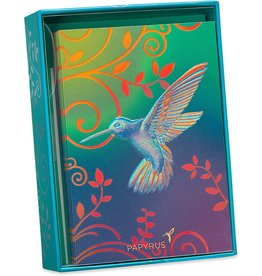 PAPYRUS® Boxed Notes Set of 12 Hummingbird Blank Note Cards