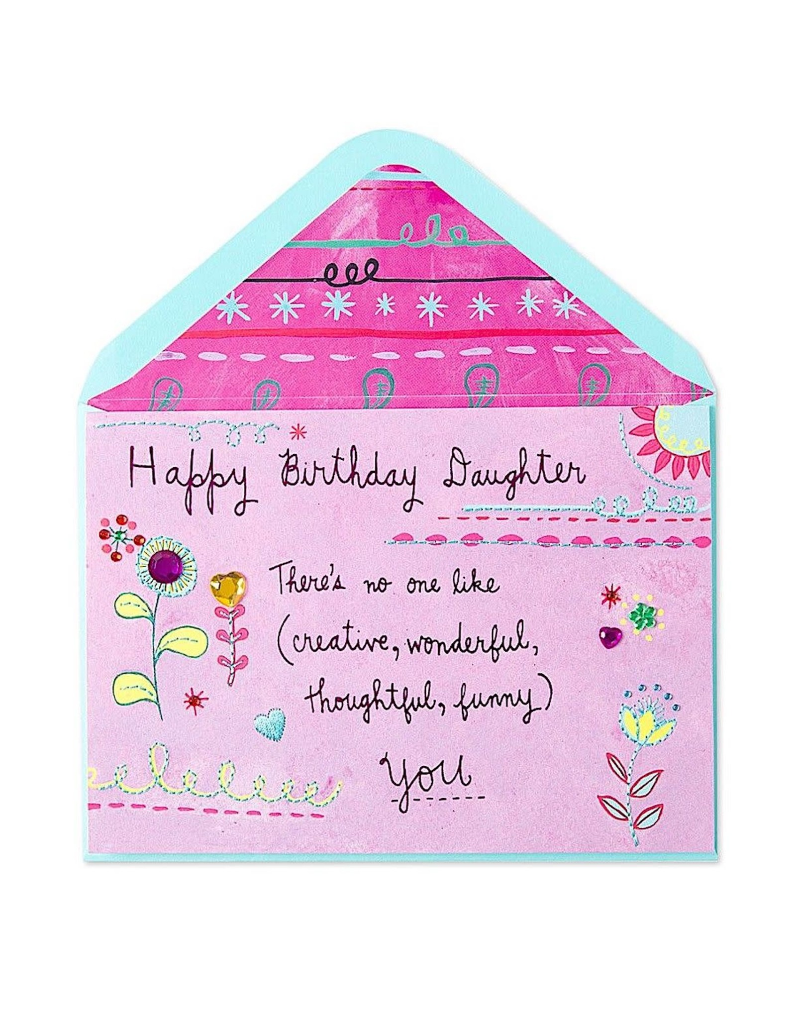 PAPYRUS® Birthday Card For Daughter No One Quite Like You