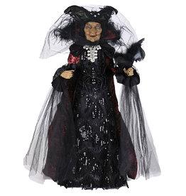 Karen Didion Halloween Black Widow Witch Collectible Figure 274 Inch