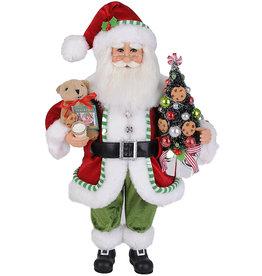 Karen Didion Lighted Yum Yum Cookies Santa Christmas Collectible 17H