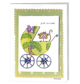 Constance Kay New Baby Just Arrived Monkey In Carriage
