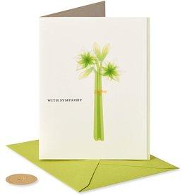PAPYRUS® Sympathy Card Lilies