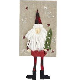 Mud Pie Christmas Dangle Leg Towels - Santa