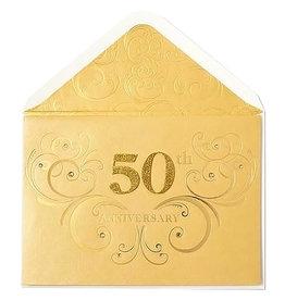 PAPYRUS® Anniversary Card 50th Anniversary Card