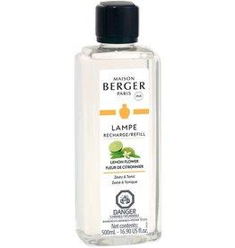 Lampe Berger Oil Liquid Fragrance 500ml Lemon Flower Maison Berger