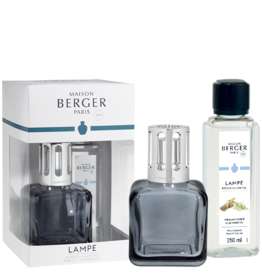 Lampe Berger Ice Cube Grey Fragrance Lamp Gift Set | Maison Berger