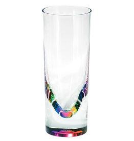 Merritt International Acrylic Rainbow Teardrop Tumbler 14oz Set Of 2