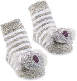 Mud Pie Baby Gifts Koala Rattle Toe Socks