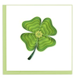 Quilling Card Quilled Lucky Clover Greeting Card