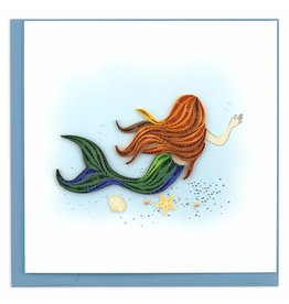 Quilling Card Quilled Mermaid Greeting Card