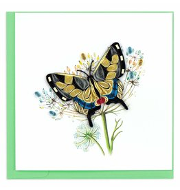 Quilling Card Quilled Swallowtail Butterfly Greeting Card