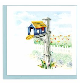 Quilling Card Quilled Happy Mailbox Greeting Card