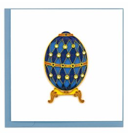 Quilling Card Quilled Faberge Egg Greeting Card