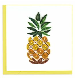 Quilling Card Quilled Pineapple Greeting Card