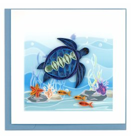 Quilling Card Quilled Sea Turtle Greeting Card