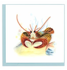 Quilling Card Quilled Deep Sea Lobster Greeting Card