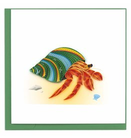 Quilling Card Quilled Hermit Crab Greeting CardBL