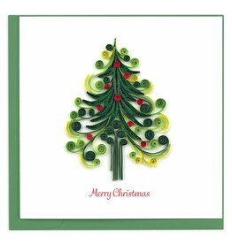 Quilling Card Quilled Christmas Tree Christmas Greeting Card