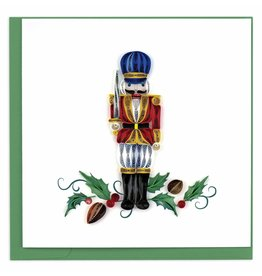 Quilling Card Quilled Nutcracker Christmas Greeting Card
