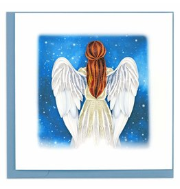 Quilling Card Quilled Angel Greeting Card