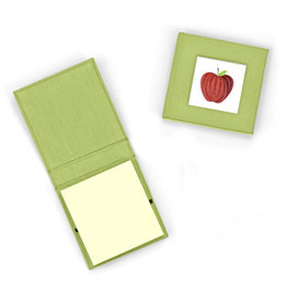 Quilling Card Quilled Apple Sticky Note Pad Cover