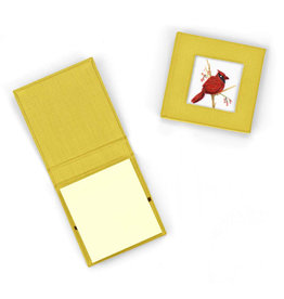 Quilling Card Quilled Red Cardinal Sticky Note Pad Cover