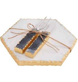 Mud Pie Sea Turtle Board With Spreader Set